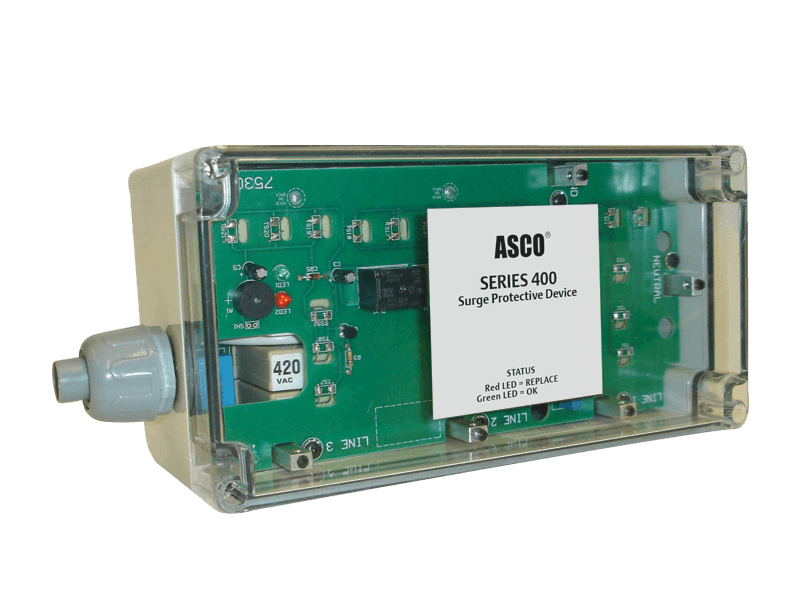 Data Center Systems, Inc ASCO Model 440 Surge Protective Device