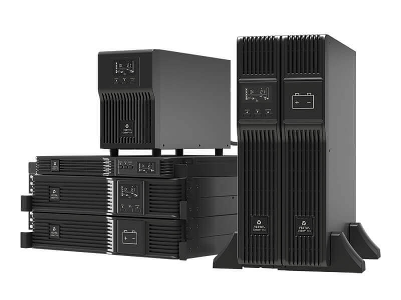 Data Center Systems, Inc Vertiv™ Liebert® PSI5 UPS, 750-5,000VA Line Interactive AVR, Mini Tower, 1U and 2U Rack/Tower