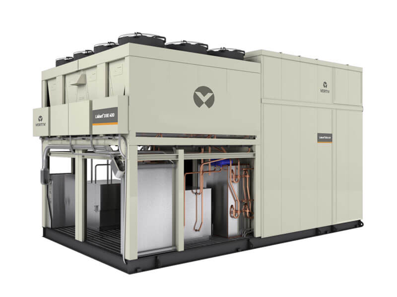 Data Center Systems, Inc Liebert® DSE Packaged Free-Cooling Solution, 400-500kW