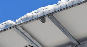 Solar Panel Ice Guard